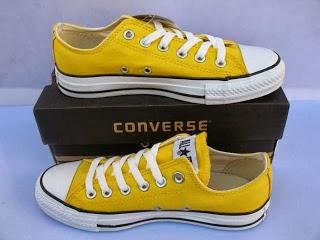 Sepatu Converse Classic kuning murah,