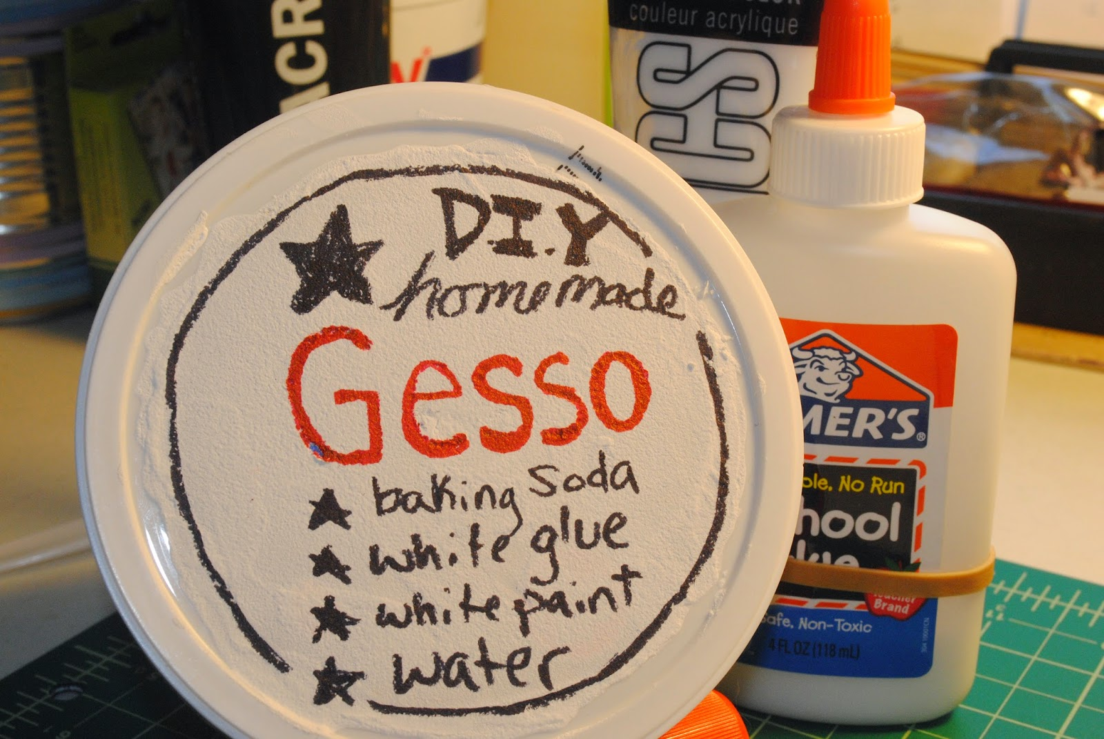 Can You Use White Paint Instead Of Gesso