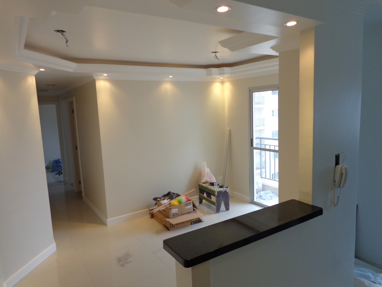 Ap Nosso: Granito na Cozinha e Nanoglass no Banheiro #91703A 1600 1200
