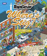 Top Gear Where's Stig? book by Rod Huntisometric pixel art
