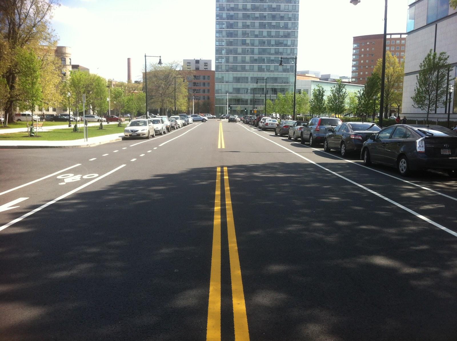 Used Cars Bay Area >> Calm Streets Boston: Shared Lanes & Bike Lanes - MFA, Back Bay Fens Area