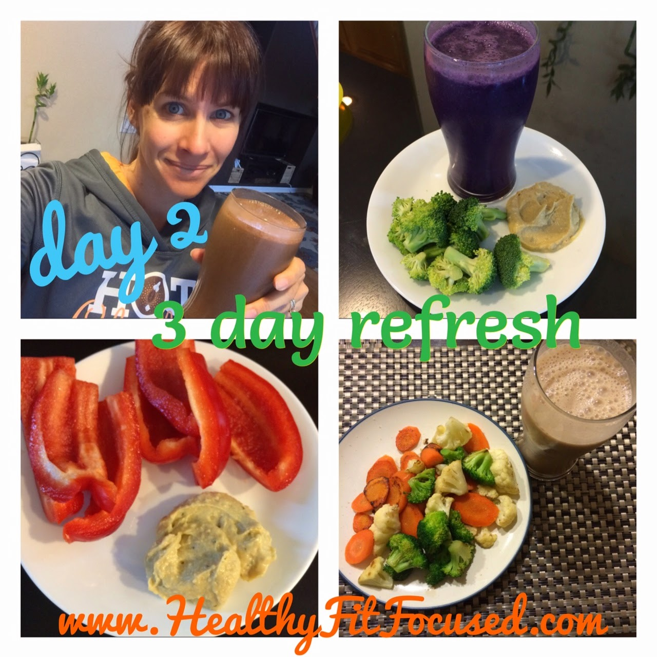 3 day Refresh Update and Review, Julie Little, www.HealthyFitFocused.com