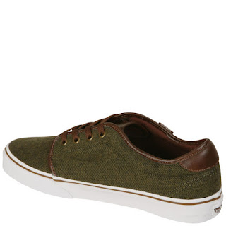 Vans Men's 159 Vulcanized Trainer - Hunter Green