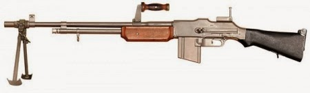 Model 1918 BAR Browning Automatic Rifle