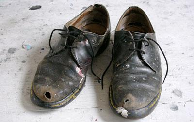 کفش قدیمی
