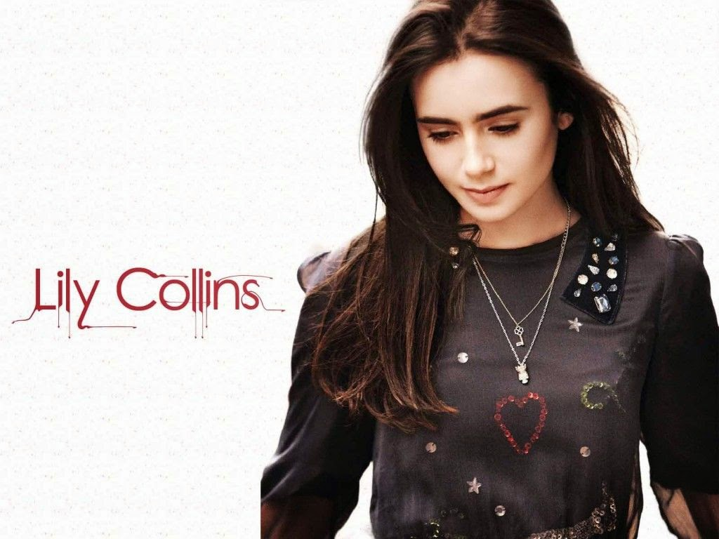 chinese actress lily collins wallpaper - free all hd wallpapers download