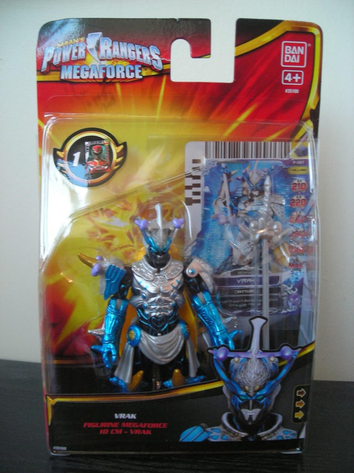 My shiny toy robots toybox review power rangers - Robot power rangers megaforce ...