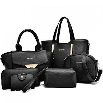 Multi Function Bag (6 in 1 Set ) – Black
