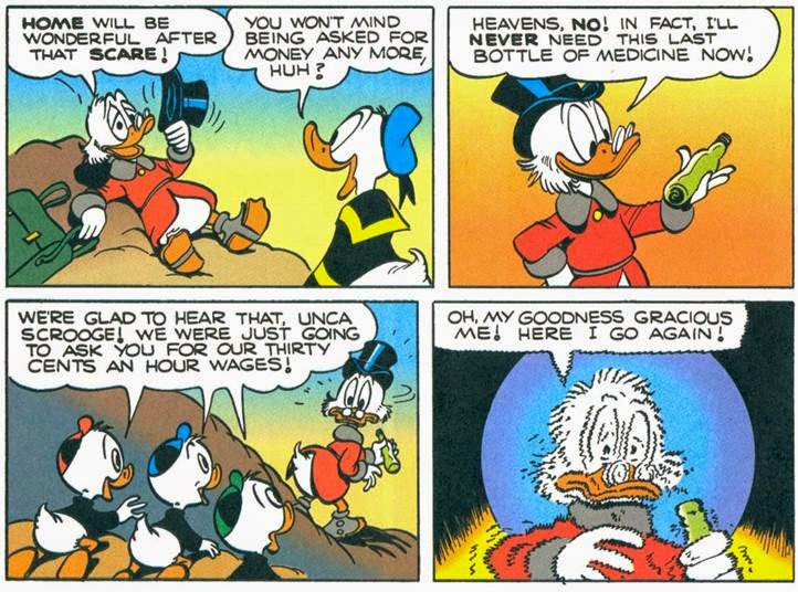 ducktales day of the only child transcript