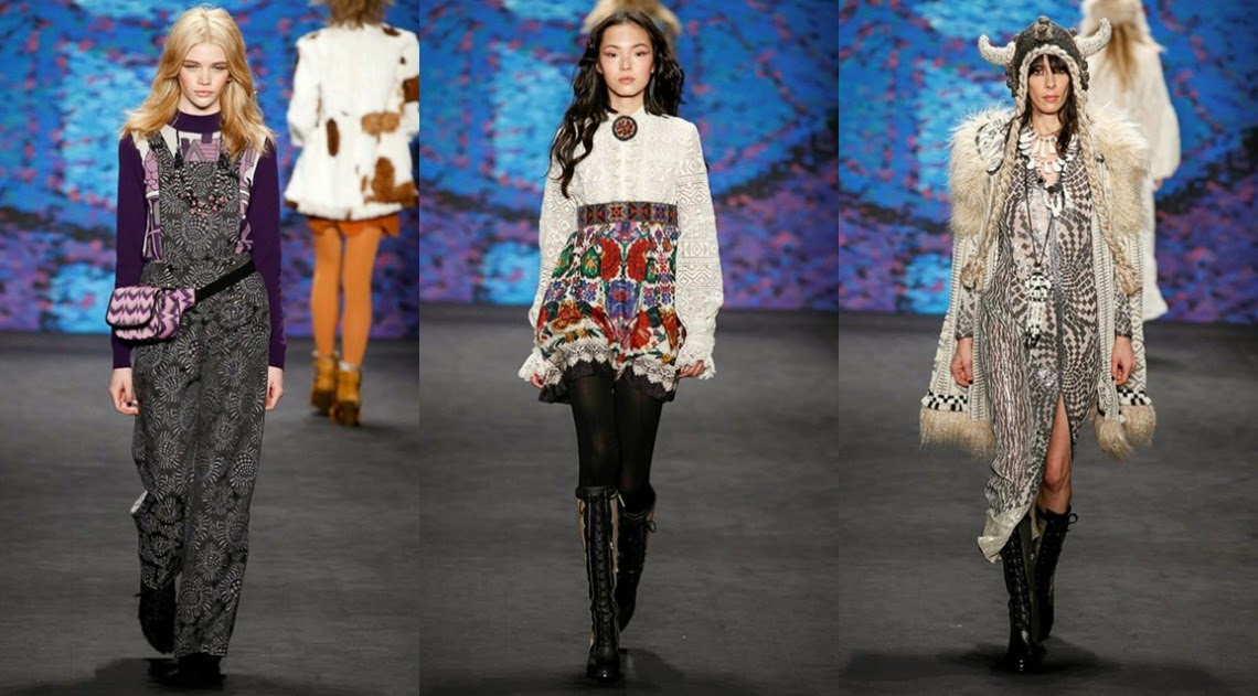 Anna Sui AW15 New York Fashion Week