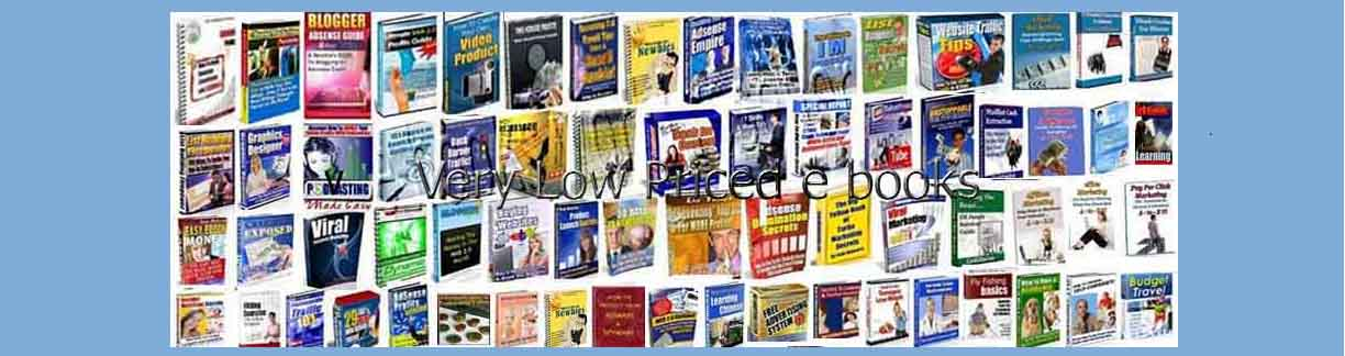 Very Low Price e books