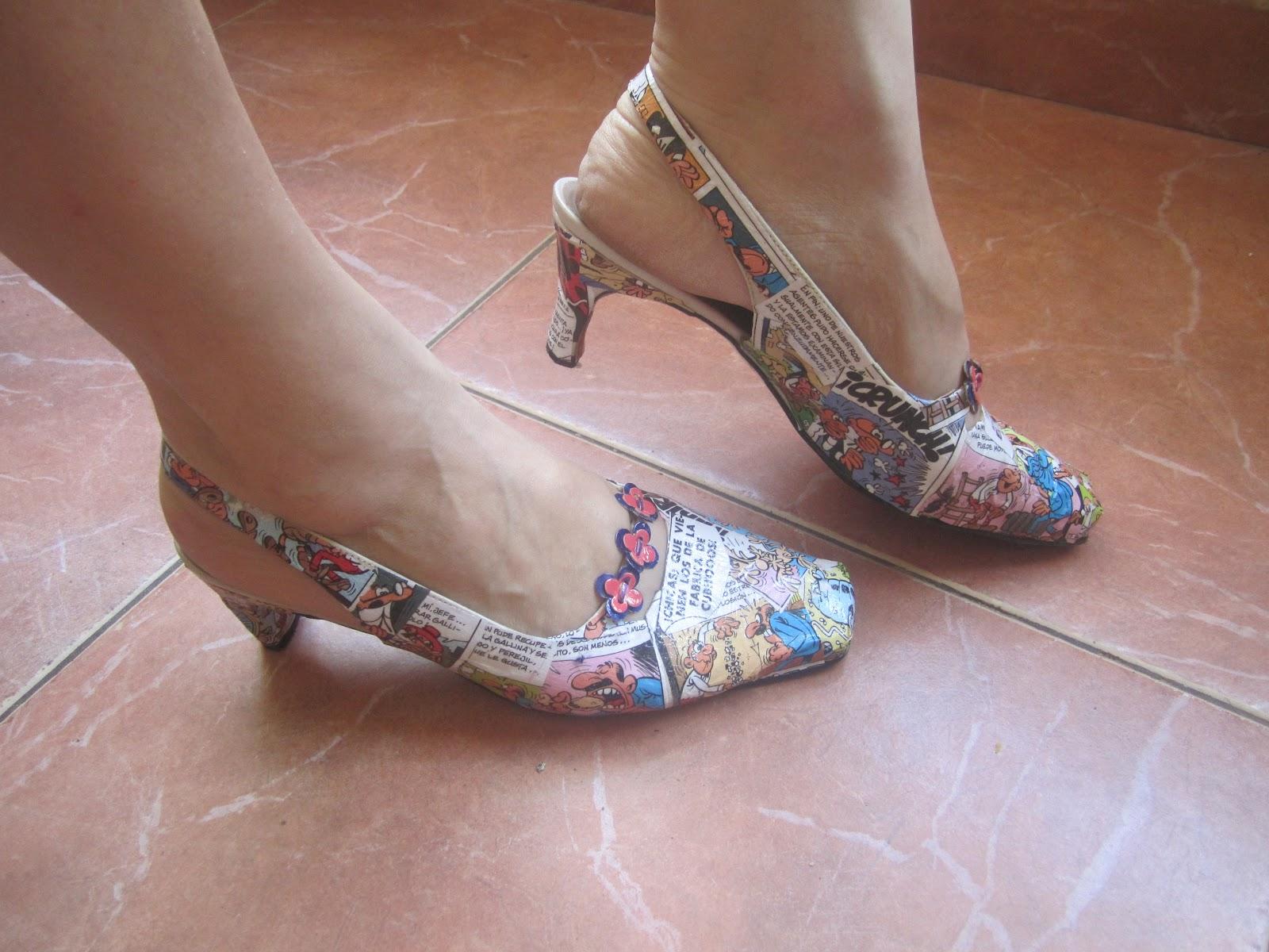 Estos zapatos no dejaran indiferentes a nadie combinados - Ideas para decorar zapatos de nina ...