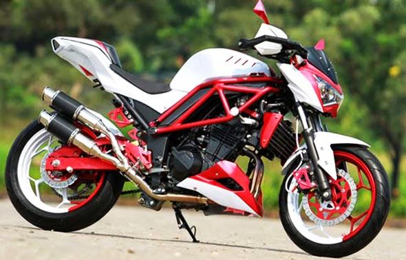 Foto dan Gambar Modifikasi Kawasaki Z250 Keren Terbaru