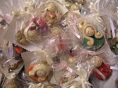 Cukierkowe aniołki i paczuszka:)