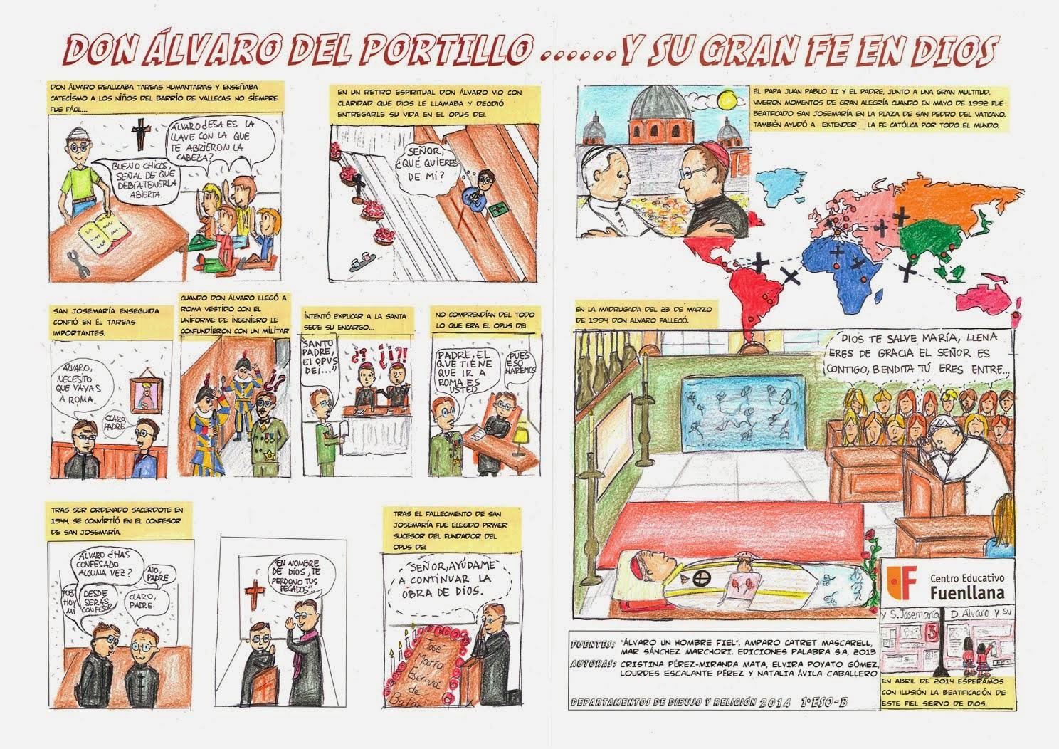 COMIC DON ÁLVARO DEL PORTILLO- 2º PARTE