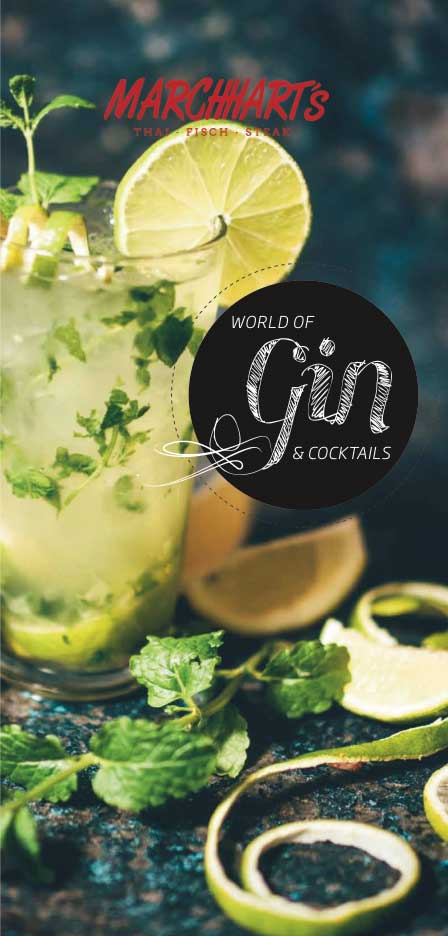 # GIN & COCKTAILS