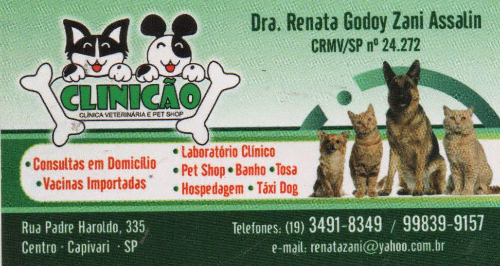 CLINICÃO Clínica Veterinária e Pet Shop