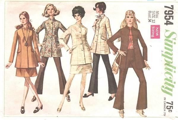 moda infantil na decada de 60