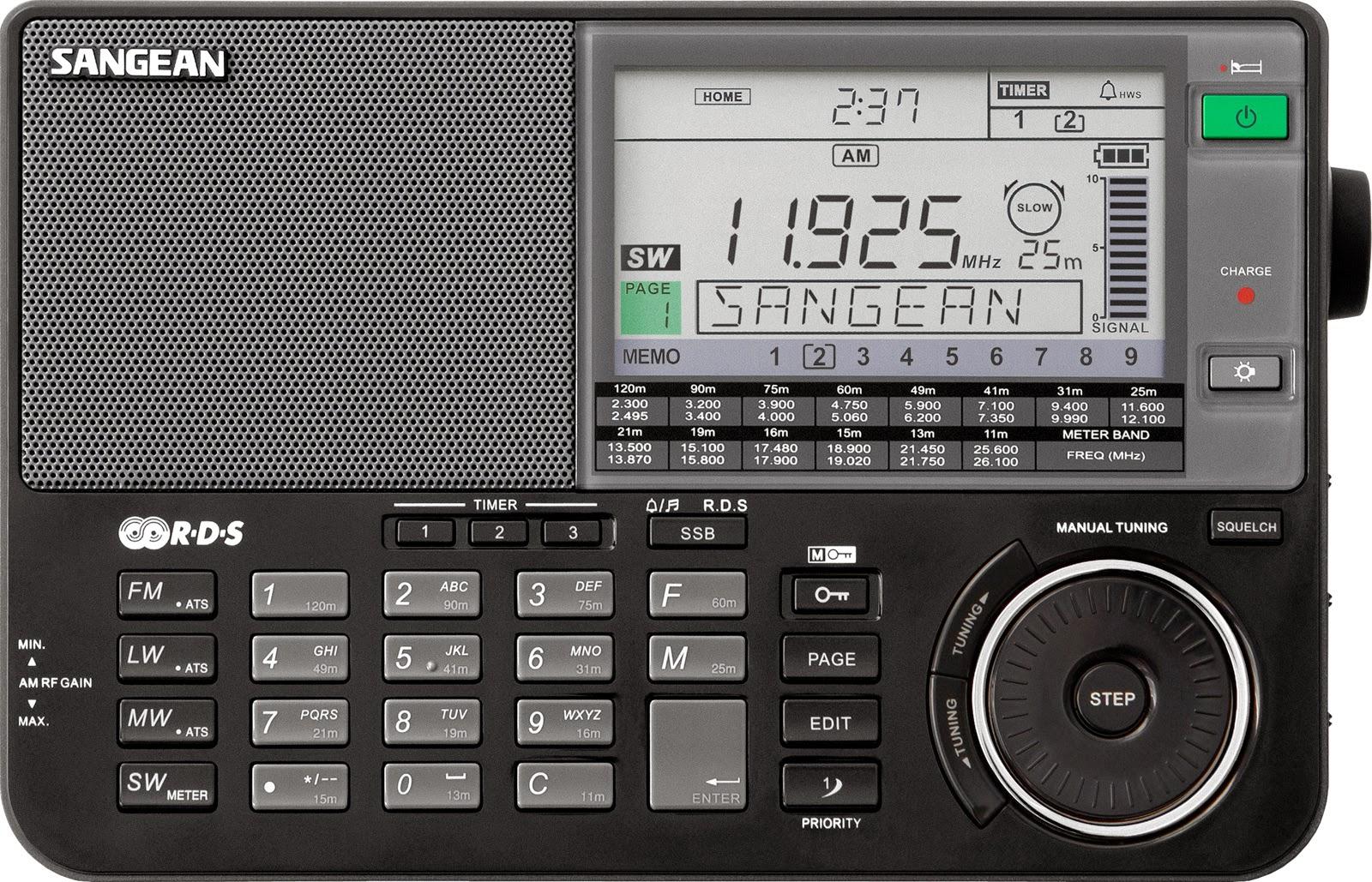 Радиоприемник Sangean ATS-909X (черный)