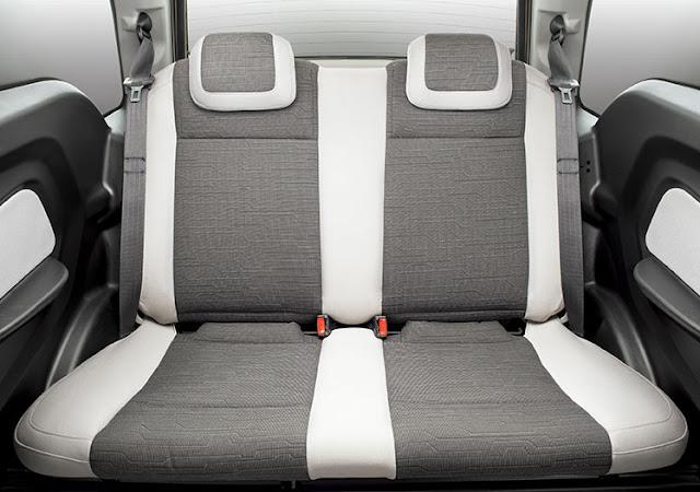 Mahindra e2o seat