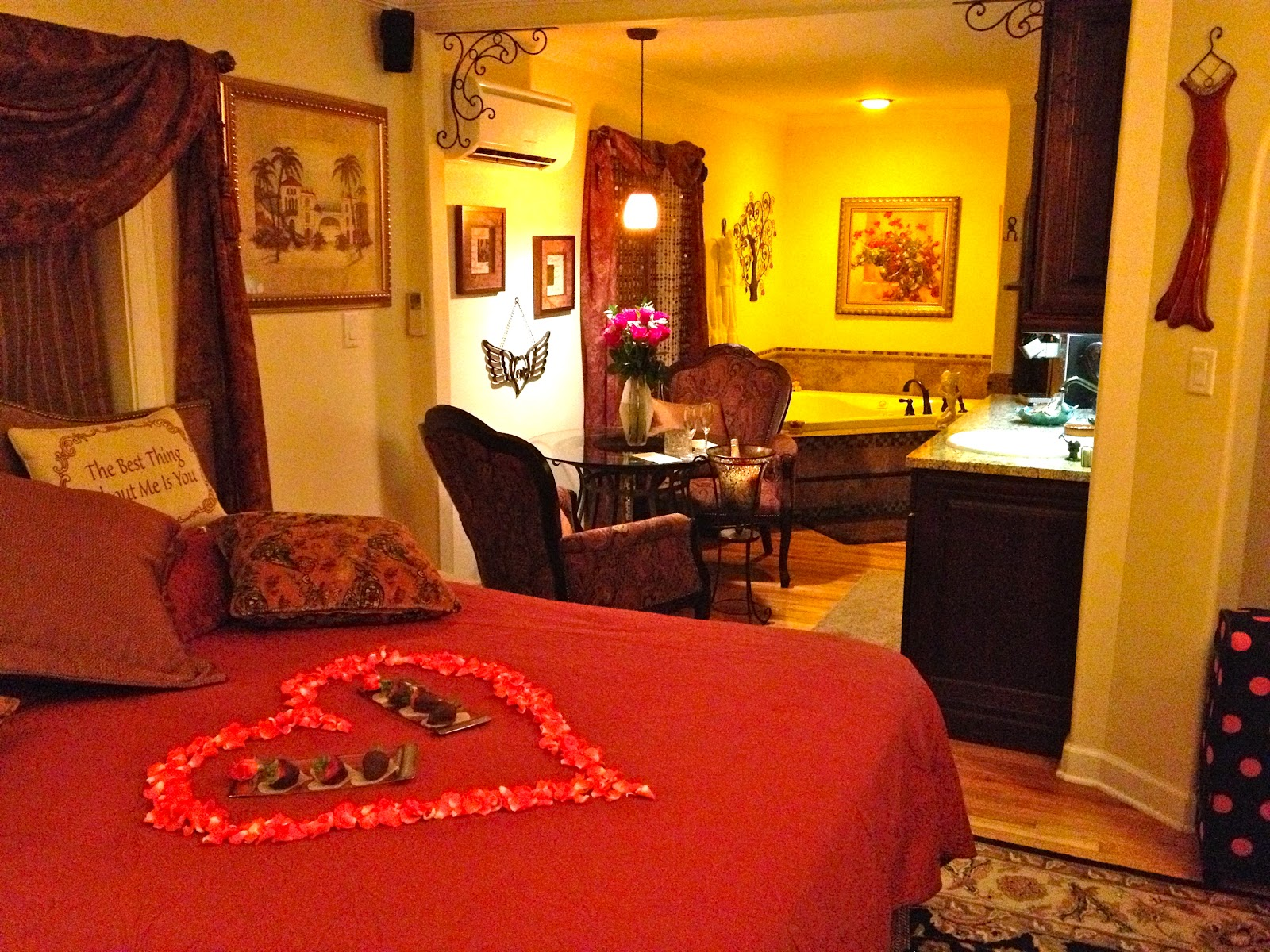 Romantic room with roses - The Graham S A New Adventureromantic Room With Roses
