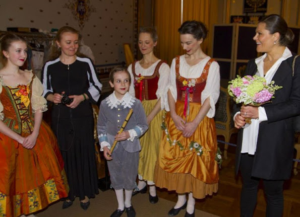 Princess Victoria Of Sweden At The Royal Castle Music Festival
