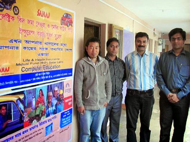 Darjeeling Hills first Sahaj Tathya Mitra Kendra in Algarah BDO Office, Kalimpong