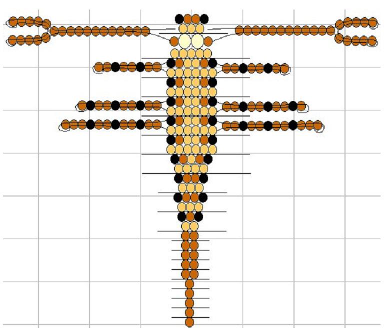 Схемы из бисера животных