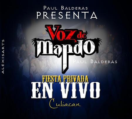 Descargar Disco Voz De Mando - En vivo desde Culiacan CD Album 2013