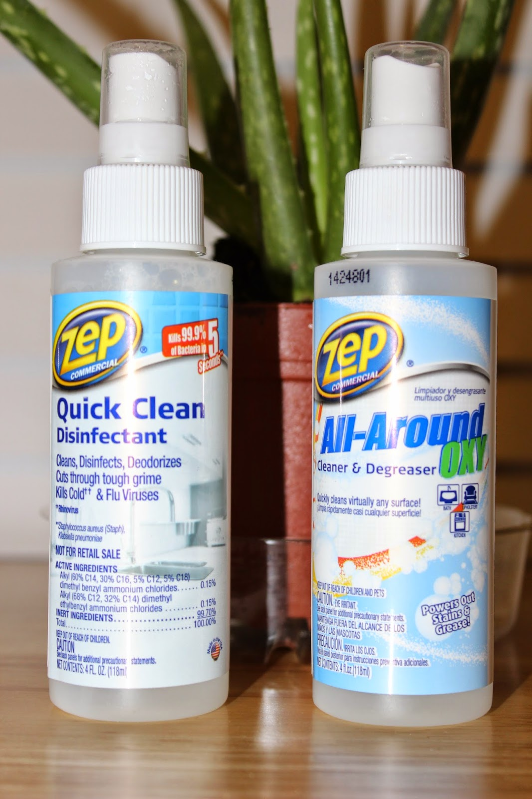 A Sampling Bee Zep Quick Clean Disinfectant Amp All Around