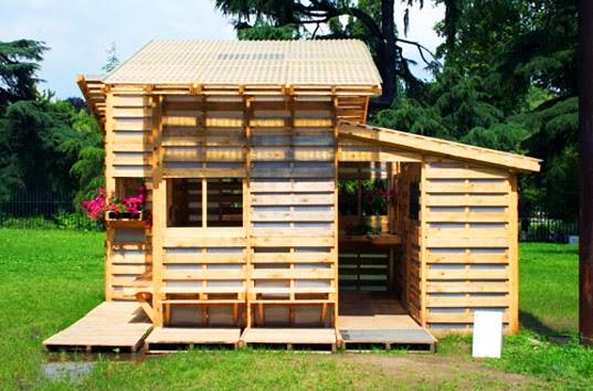 the palette house se construye con herramientas basicas
