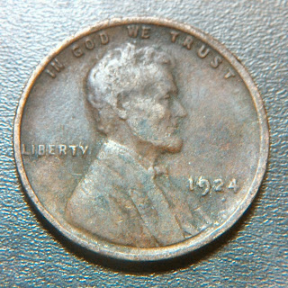 1924 Wheat Cent