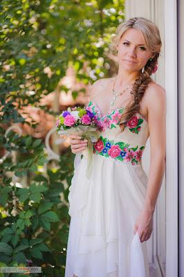 невеста в вышиванке