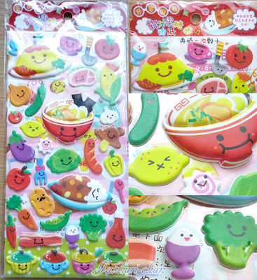 Kawaii Box - Kawaii Food Sticker Set