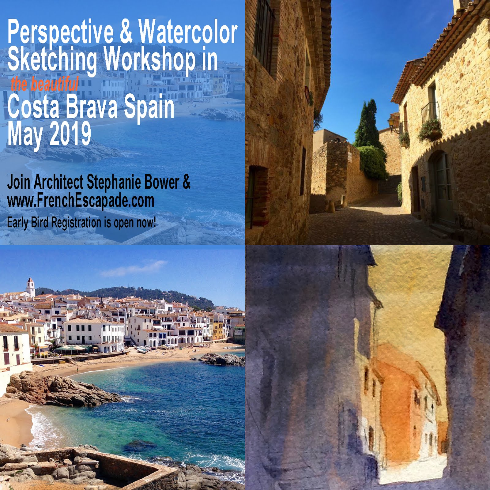 Workshops in Spain May 2019