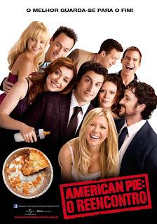 "Pôster nacional de ""American Pie: O Reencontro"""