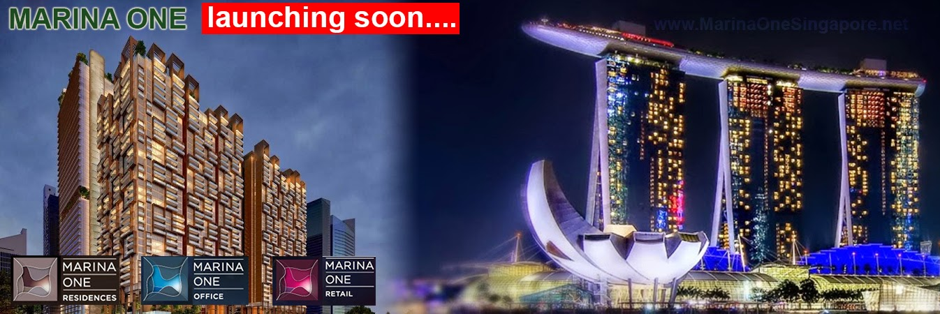 Marina One Project at Marina Bay is launching soon