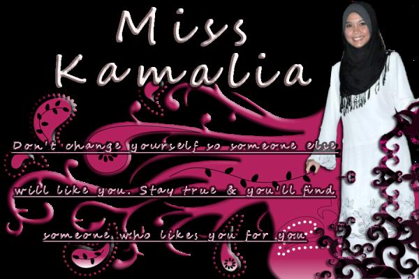 .:: Miss Kamalia::.