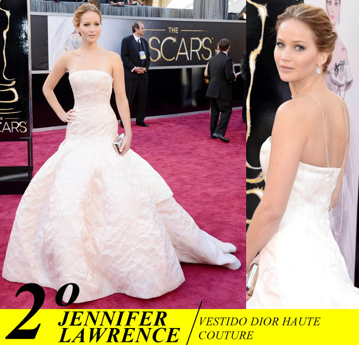 A NOITE DO OSCAR_Top 5_Mais bem vestidas do Oscar 2013_Jennifer lawrence_ dior