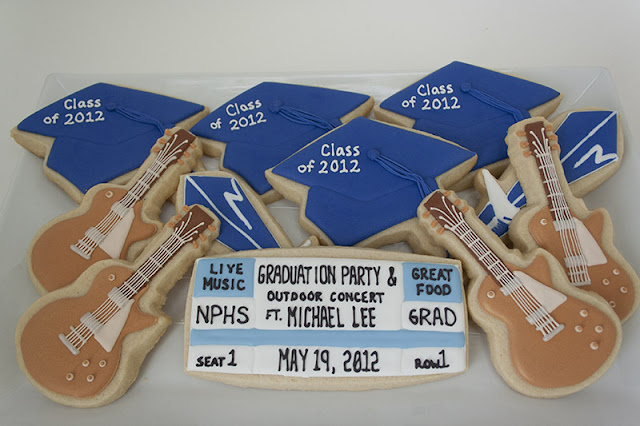 Graduation cookie platter