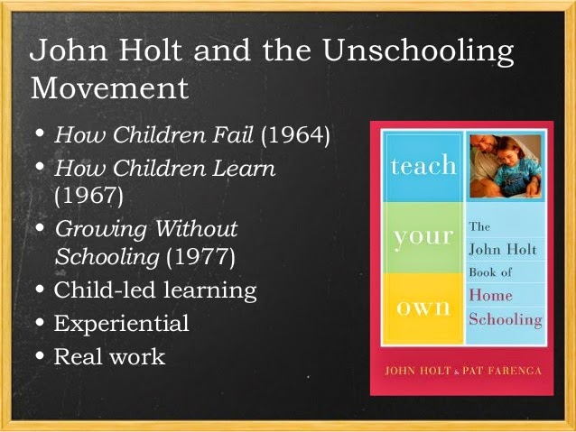 response to john holt school is Why school is bad for kids the school wants right answers the ideas above are essentially those of educator and author john holt.