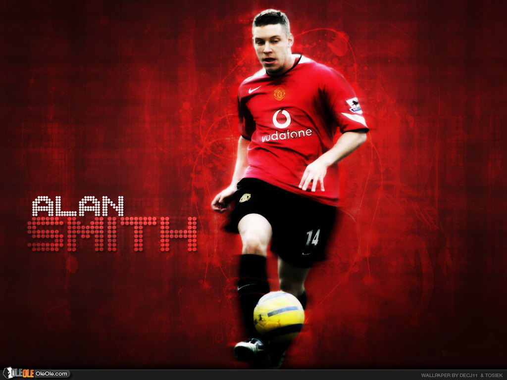 alan smith wallpaper, smith manchester united, england smith, alan smith leeds legends