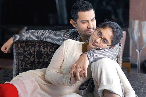 Aamir Khan and Kiran Rao's photoshoot For Verve magazine Feb 2011