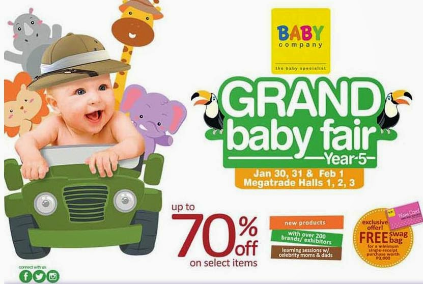 Grand Baby Fair Year 5, SM Megatrade Hall, baby needs, baby products