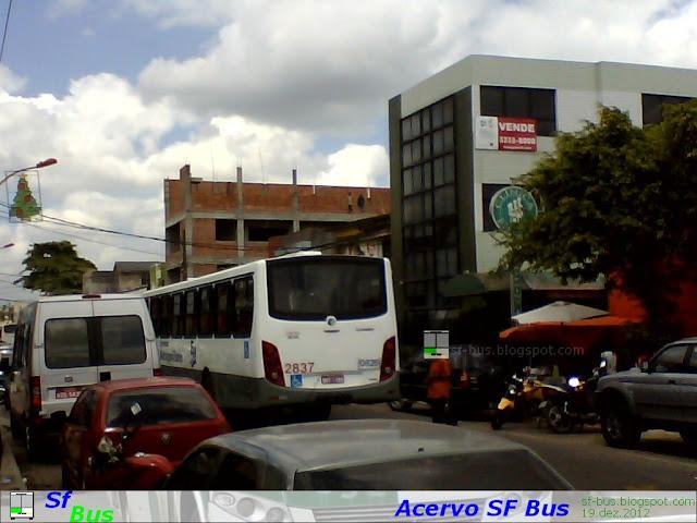 Novos ônibus da Expresso metropolitano: Carroceria Apache Vip II e chassi MB OF 1721 Euro V