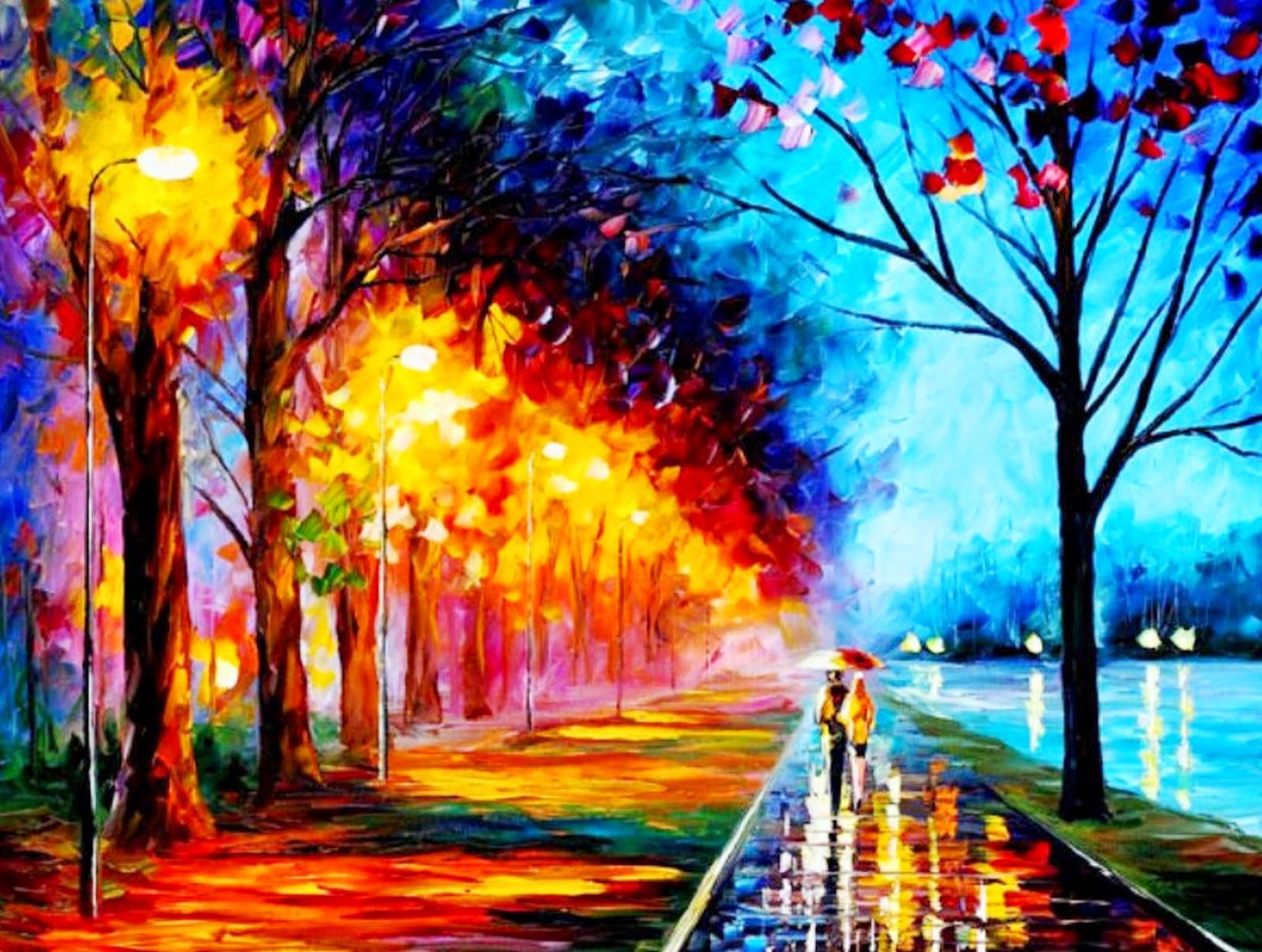 Pinturas cuadros lienzos imagenes de pinturas a espatulas - Los cuadros mas bonitos ...