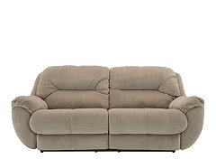 Superieur Contemporary Decorators Will Fall Head Over Heels For The Kathy Ireland  Home Quinn Microfiber Reclining Sofa. Its Padded Pillowtop Arms Are So  Comfy, ...