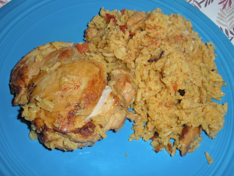 Jackie Likes to Eat: Lightened Up Arroz Con Pollo