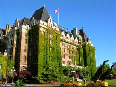 Fairmont Empress Hotel, Victoria, Canada