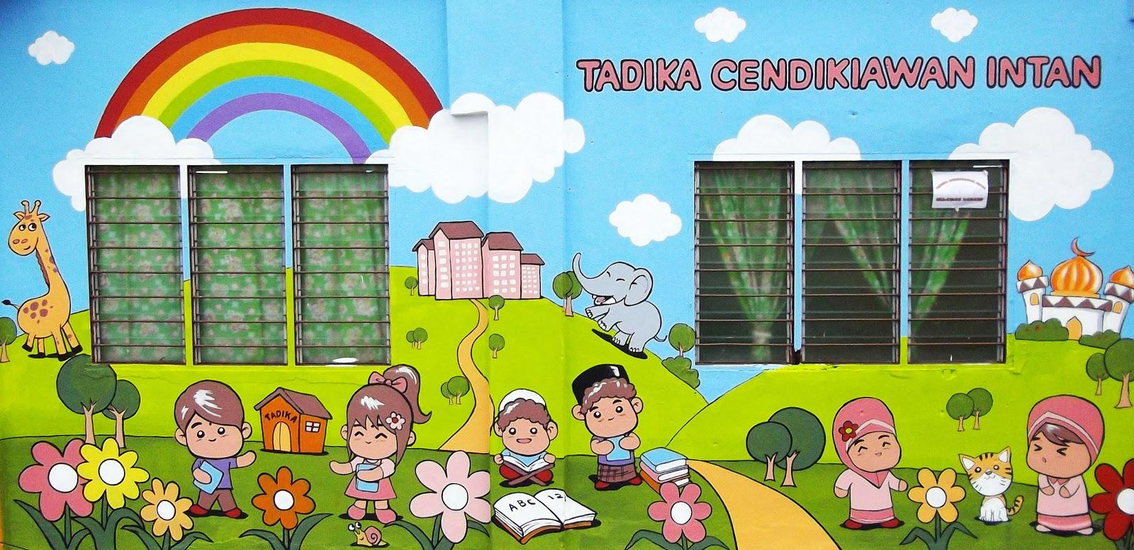 Warna arts mural art painting for all for Contoh lukisan mural tadika